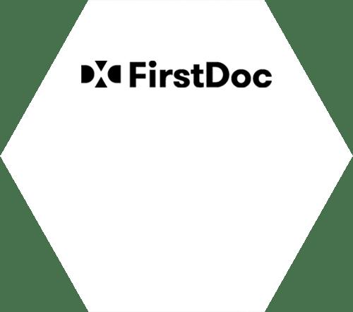 Logo | Hexagon | Target Platform | DXC FirstDoc