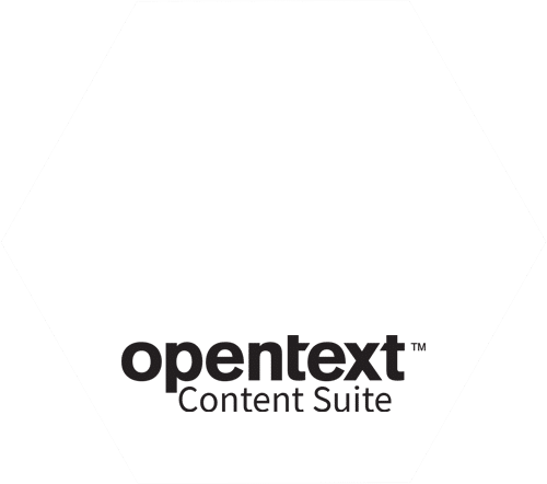 Logo | Hexagon | OpenText Content Suite