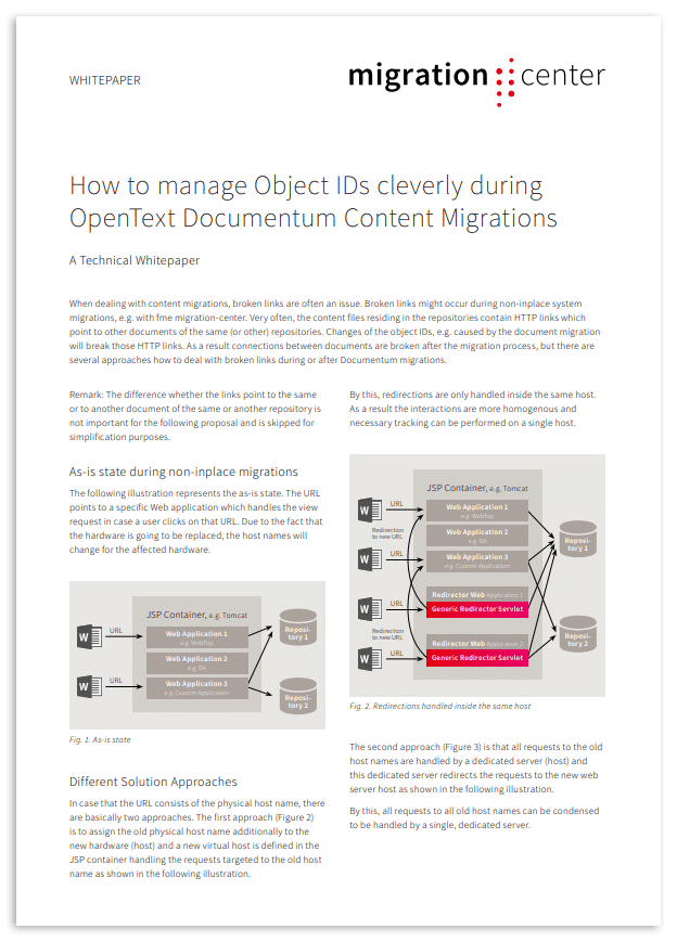 Thumbnail | Whitepaper | How to manage object IDs cleverly during OpenText Documentum content migrations