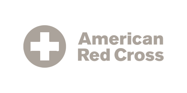 Logo | American Red Cross | Gray