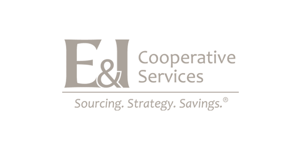 Logo | E & I Cooperative Services | Gray