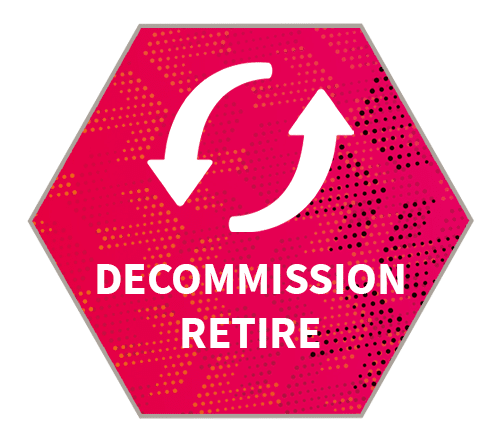 Use case | Hexagon | Decommission & retire