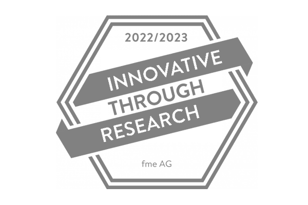 Certificate | Stifterverband | Innovative Through Research | Gray
