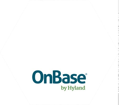 Logo | Hexagon | Hyland OnBase