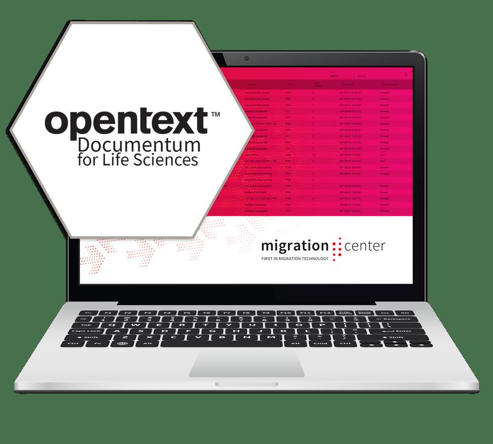 Heroshot | Target Platform | OpenText Documentum for Life Sciences