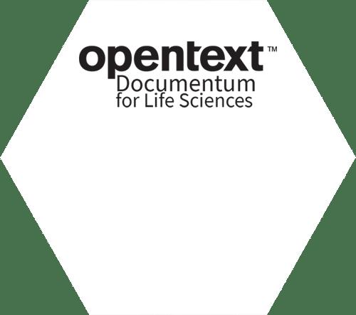 Logo | Hexagon | Target Platform | OpenText Documentum for Life Sciences