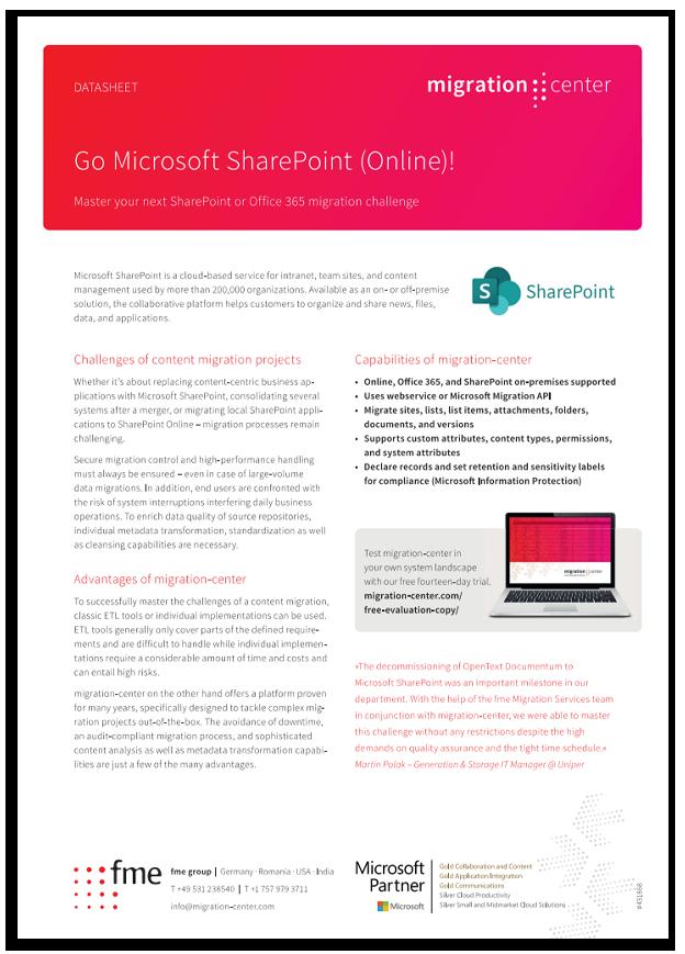 Thumbnail | Datasheet | Go Microsoft SharePoint (Online)!